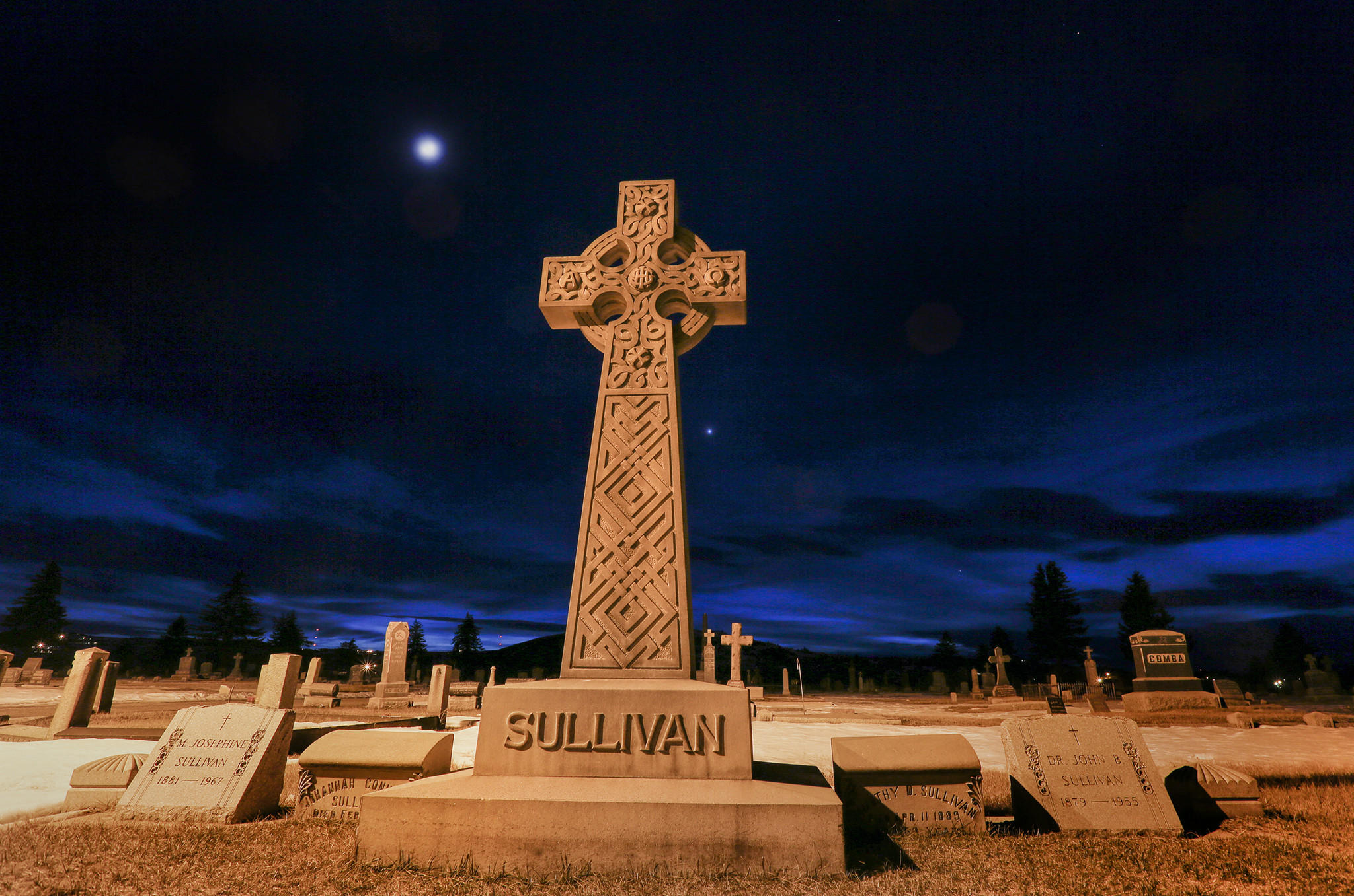 St. Patrick's Cemetery in Butte, Montana.