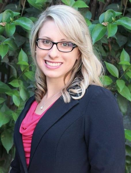 Congressional candidate Katie Hill, executive director of a statewide organization that provides homeless services and develops housing. None