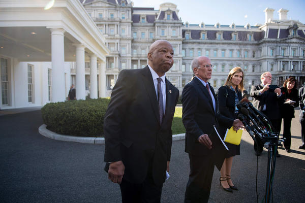 Elijah Cummings tells President Trump his language has been hurtful to African Americans