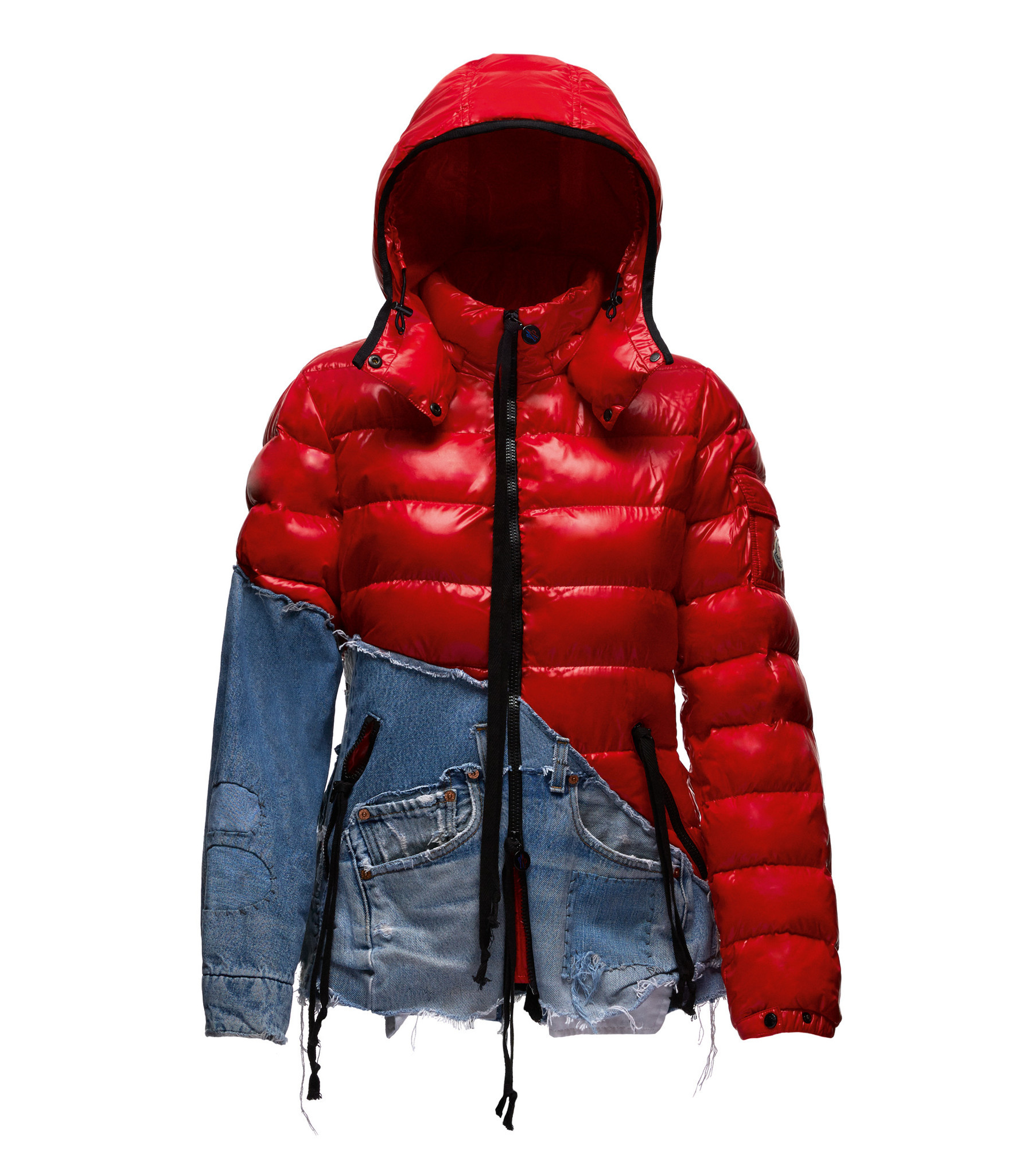 Clothes from the Greg Lauren X Moncler collection from Paris Fashion Week.
