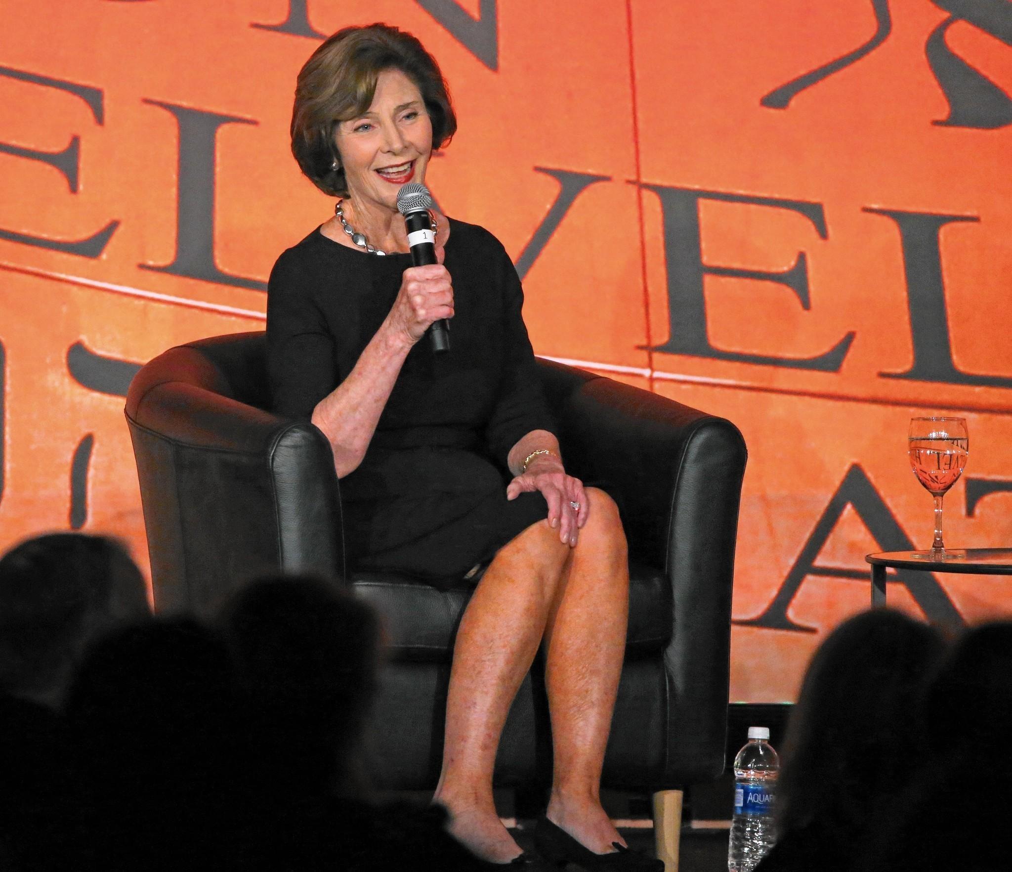 Former First Lady Laura Bush Gives Keynote At Holocaust