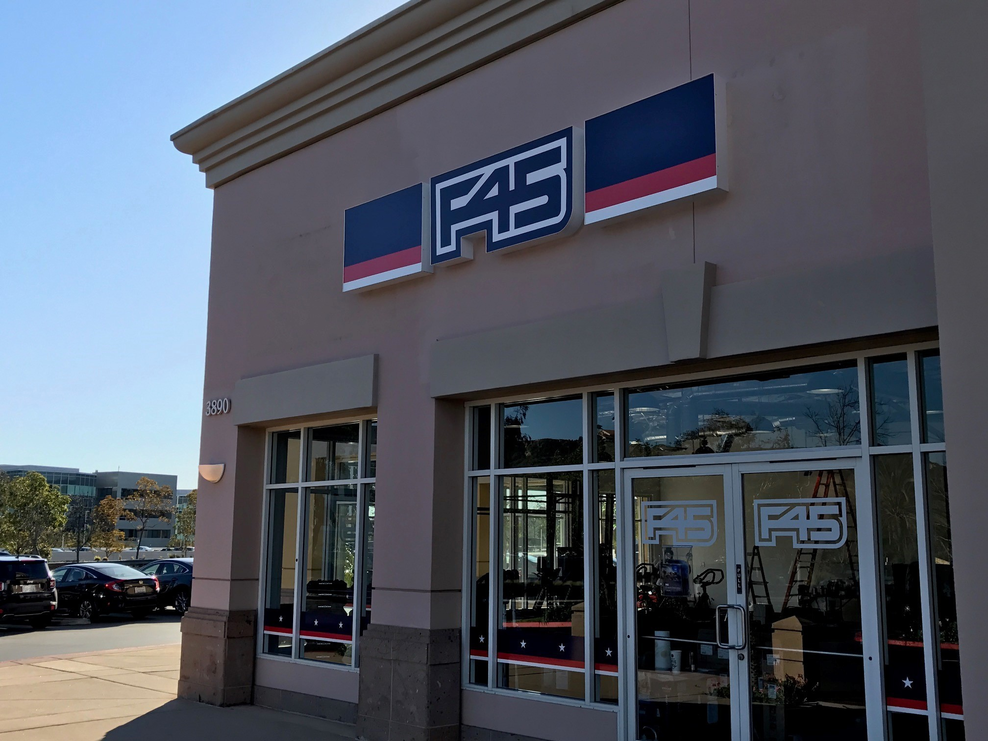 F45 in Pizza Carmel.