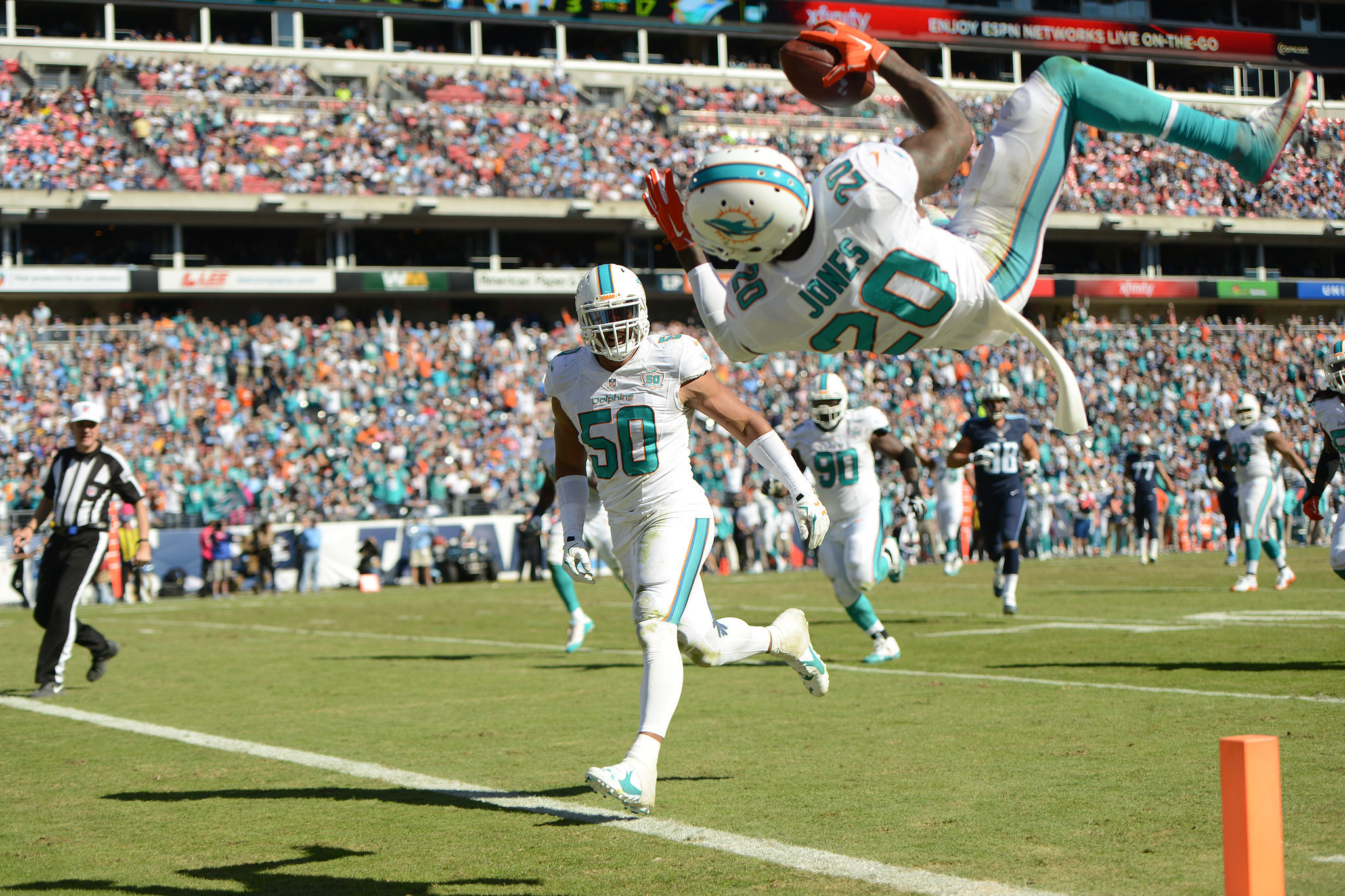 Dolphins sign safety Reshad Jones to 5 year deal Sun Sentinel