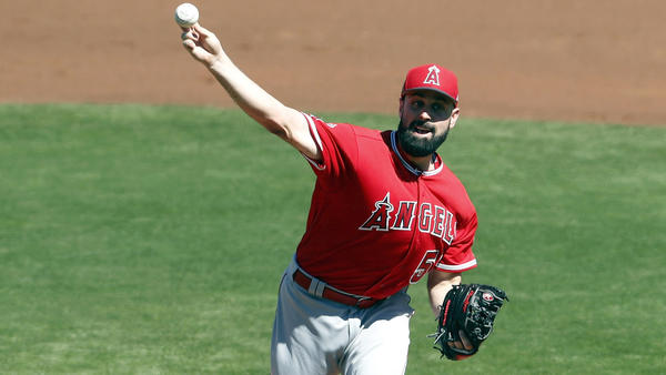 Los Angeles Angels pitcher Matt Shoemaker looks more comfortable in second outing