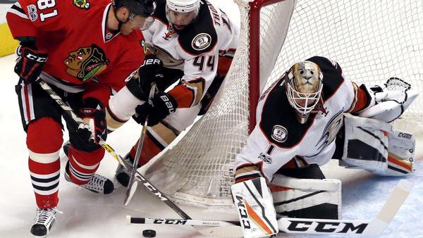 Jonathan Bernier Stops 43 Shots To Lead Ducks To 1-0 Win Over Blackhawks