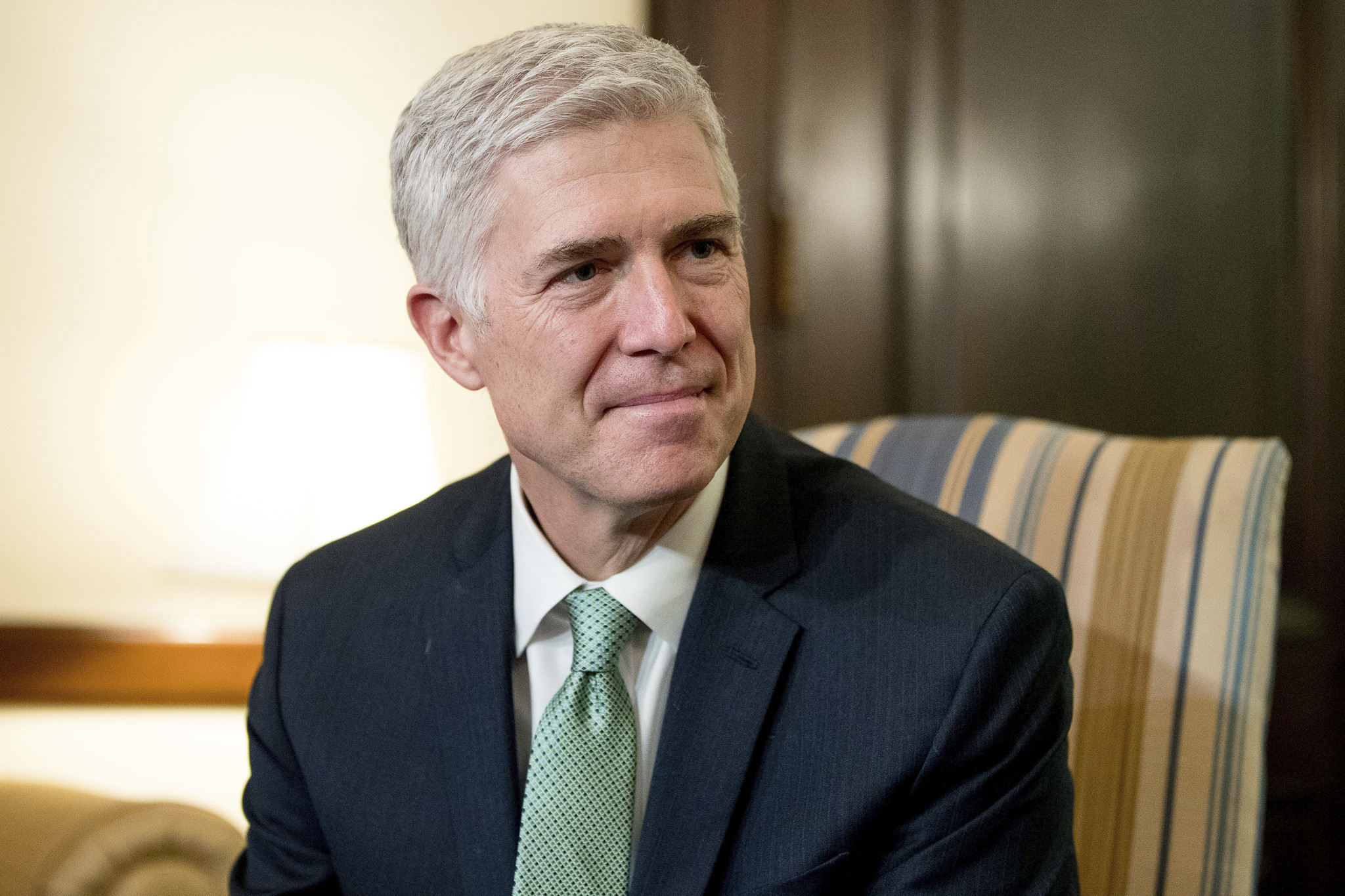 Make Neil Gorsuch actually answer questions in his Supreme Court confirmation hearings