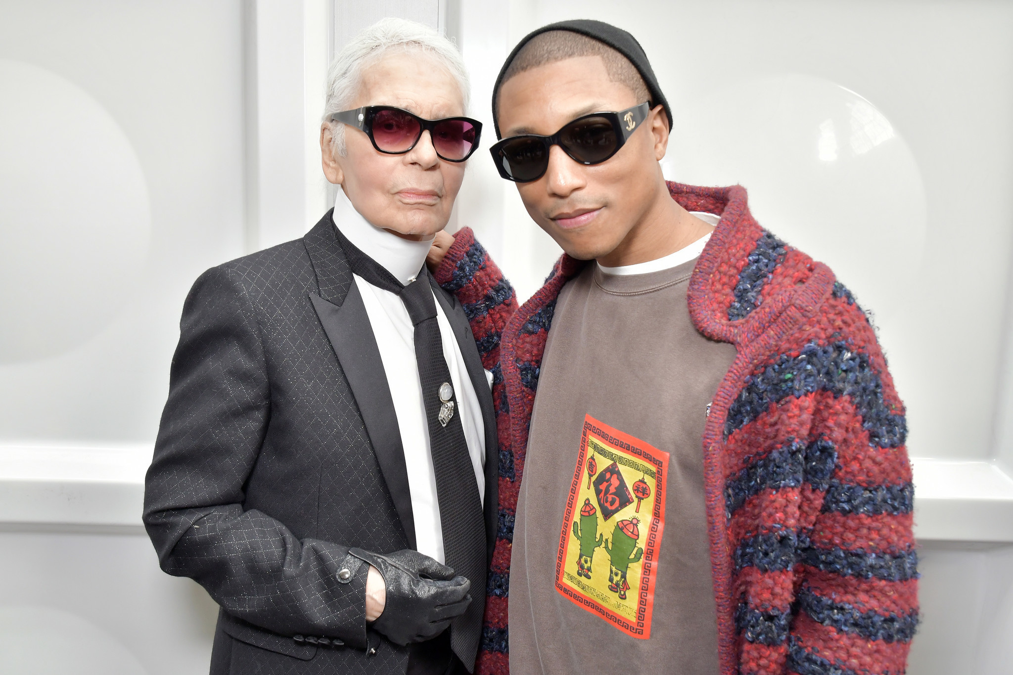 Pharrell Williams is the first man to appear in a Chanel handbag campaign