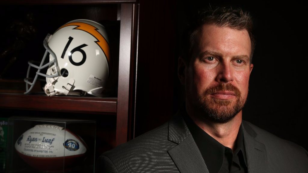 His NFL-to-prison cautionary tale leaves students transfixed. Here is Ryan Leaf's story, in his own words