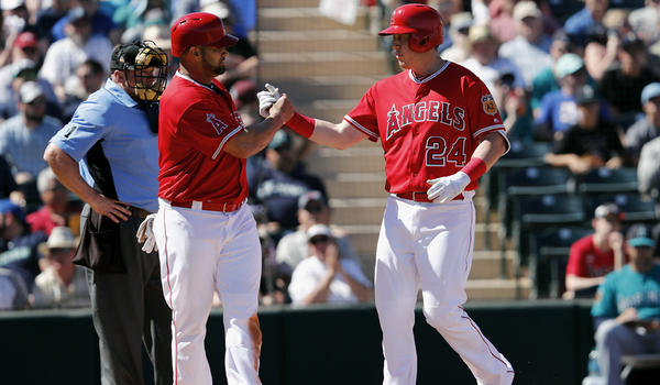 C.J. Cron hits two-run homer, Danny Espinosa doubles in two, Angels beat Seattle