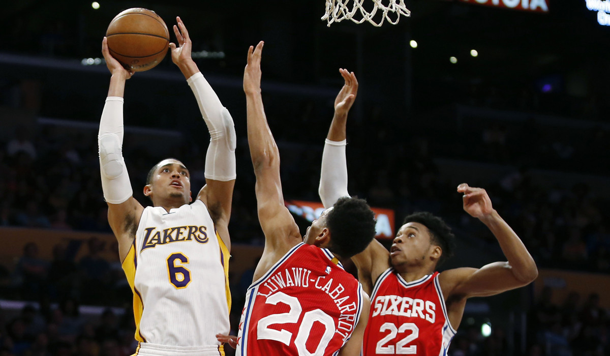 Lakers' rally falls short in 118-116 loss to 76ers - LA Times