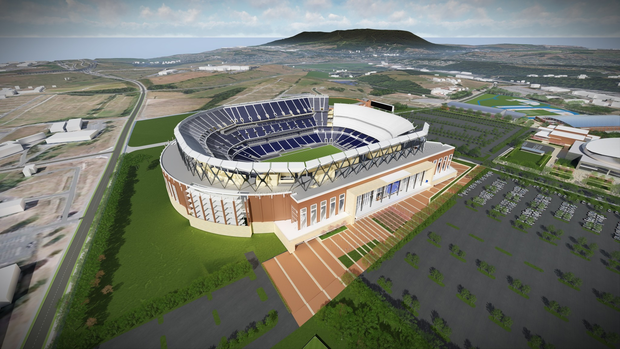 First Look At The Beaver Stadium Renovation Plans The