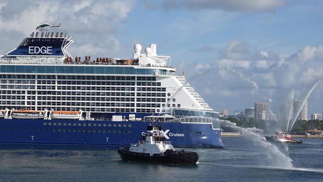New Features Of Celebrity Edge Cruise Ship Revealed Orlando Sentinel - Celebrity cruise ship photos