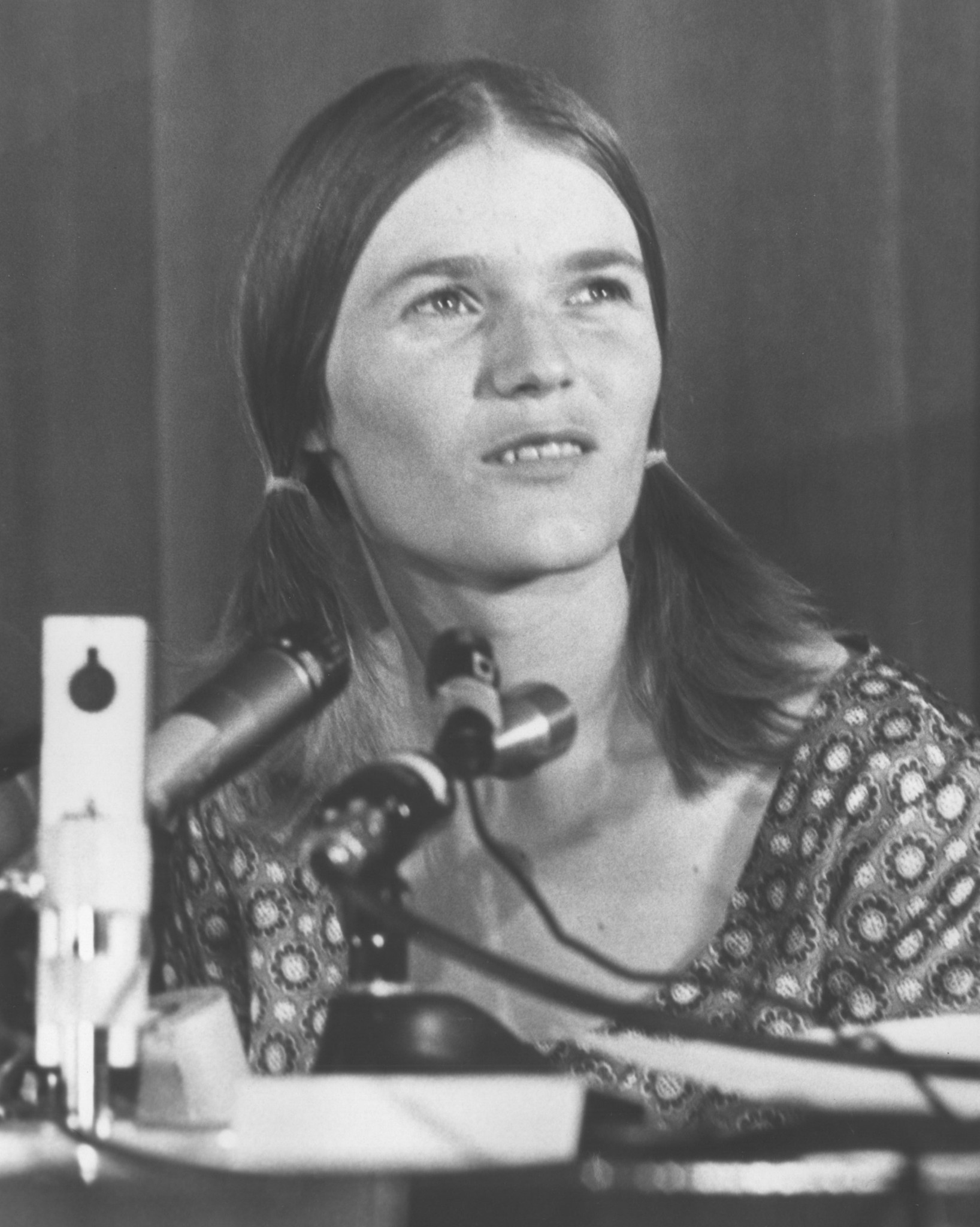 Linda Kasabian testifies in 1970.