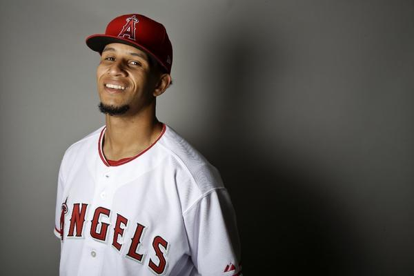 Harnessing his fastball could keep Angels pitcher Keynan Middleton on fast track
