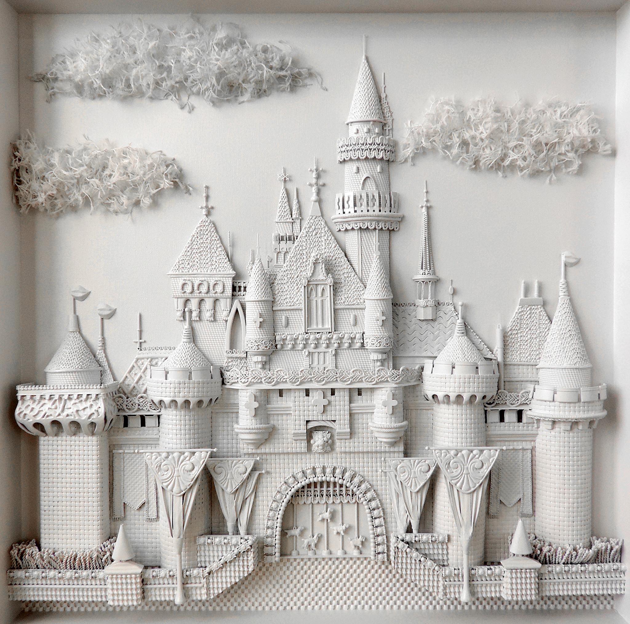 "Karen Campagna's ""Fairy Tale Castle."""