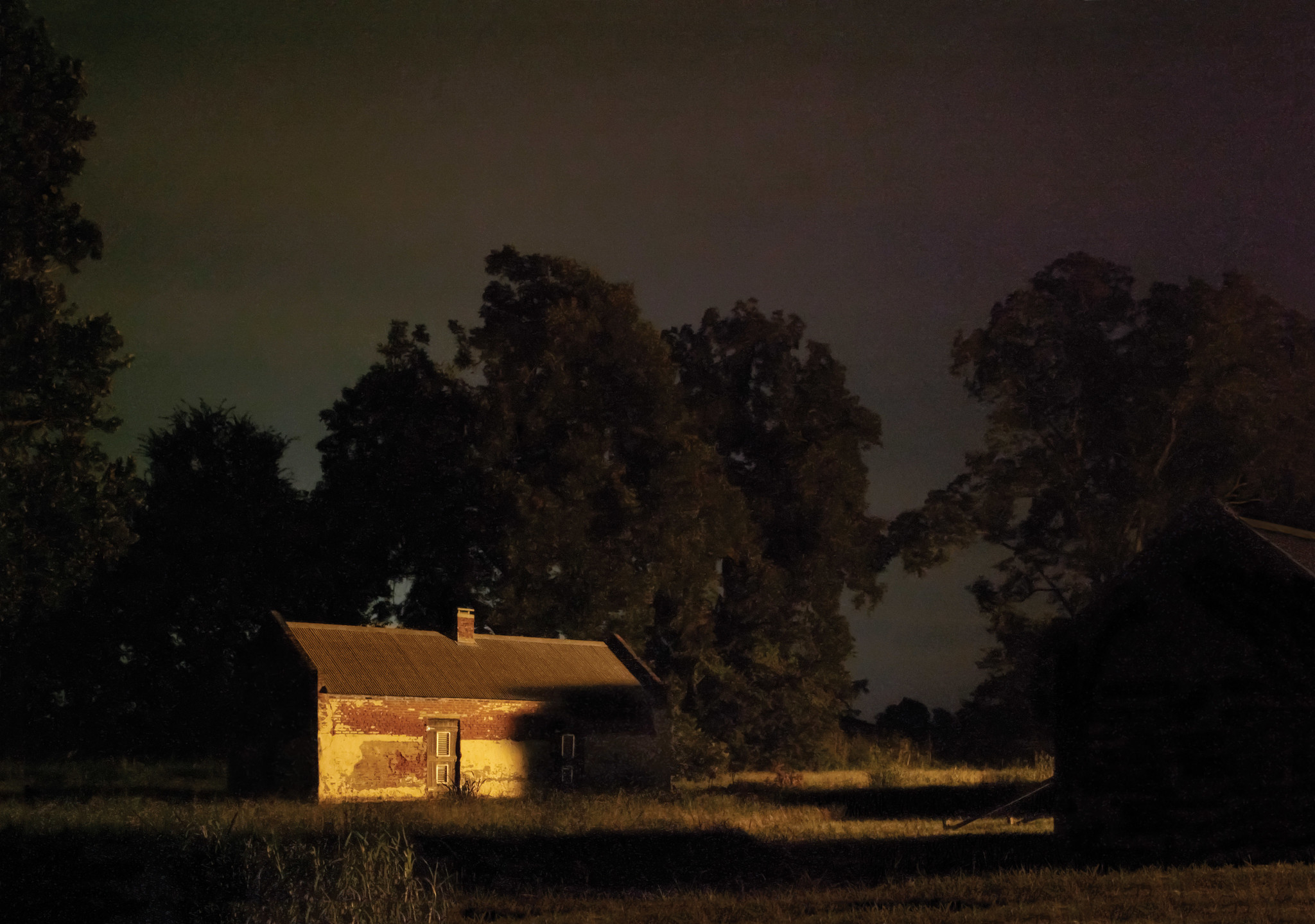 """Magnolia Plantation on the Cane River, Louisiana,"" 2013, from ""In Through Darkness to Light: Photographs Along the Underground Railroad."""
