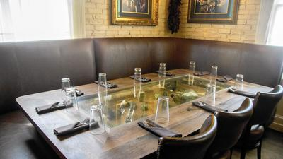 Are You Dying To Dine At Geronimo's New Scorpion Table?