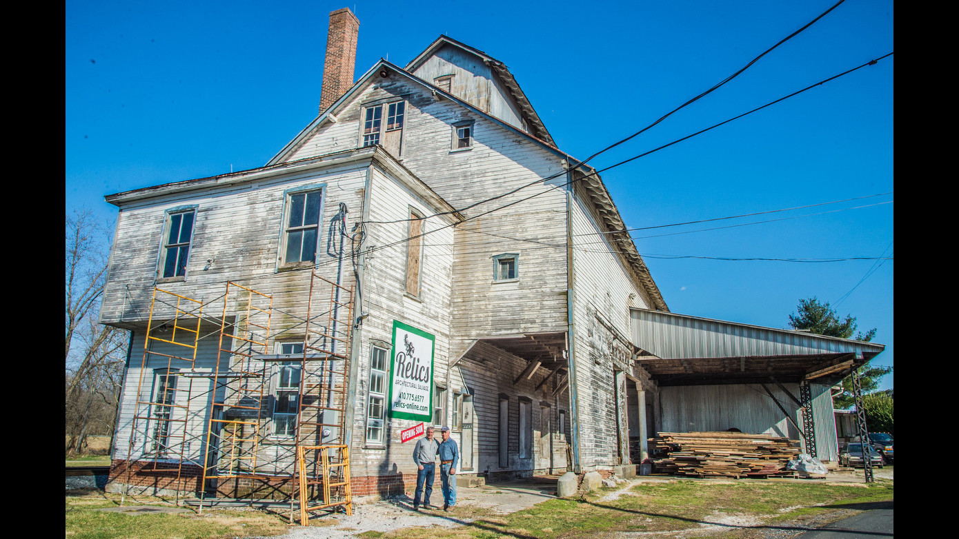 Union bridge family converts linwood mill into architectural salvage business carroll county times