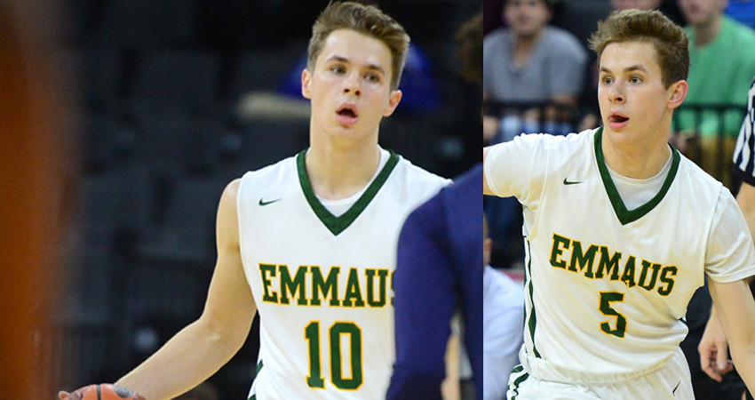 twins david and matt kachelries have combined to forge special era of hoops at emmaus