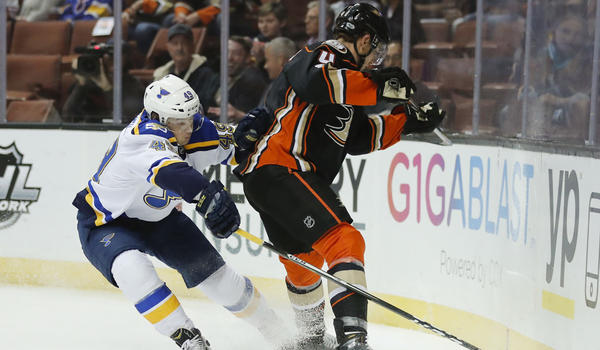 Rickard Rakell Comes Up Big In Ducks' 2-1 Win Over The Blues