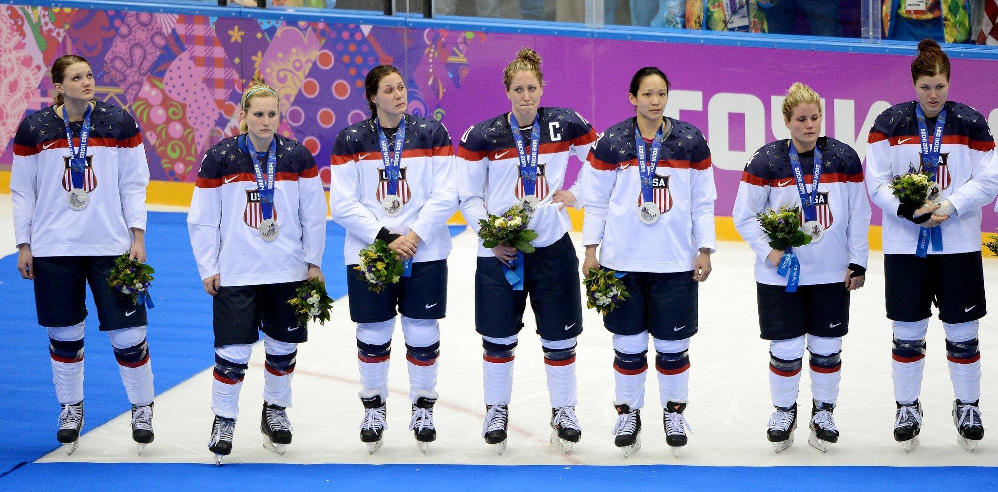 Wage dispute involving US women's hockey team escalating