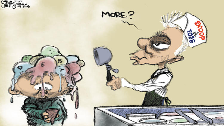 Rahm Emanuel's scoop and toss – Scott Stantis Cartoon