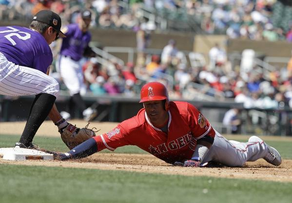 Los Angeles Angels rally for 8-7 victory over Colorado Rockies