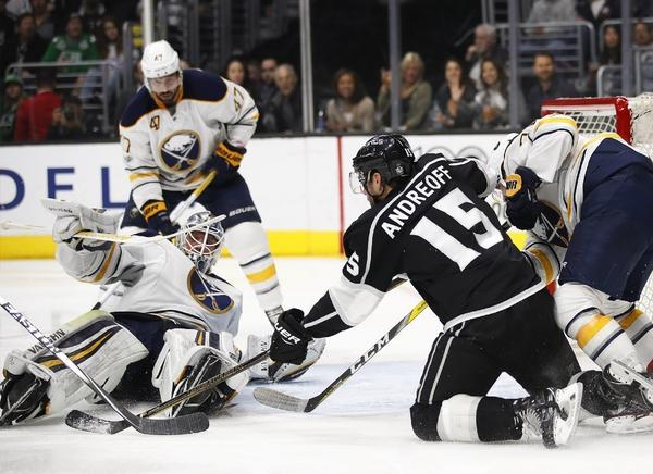 Kings Finish Key Homestand With 2-0 Win Over Sabres But Have Lost Ground In Playoff Chase