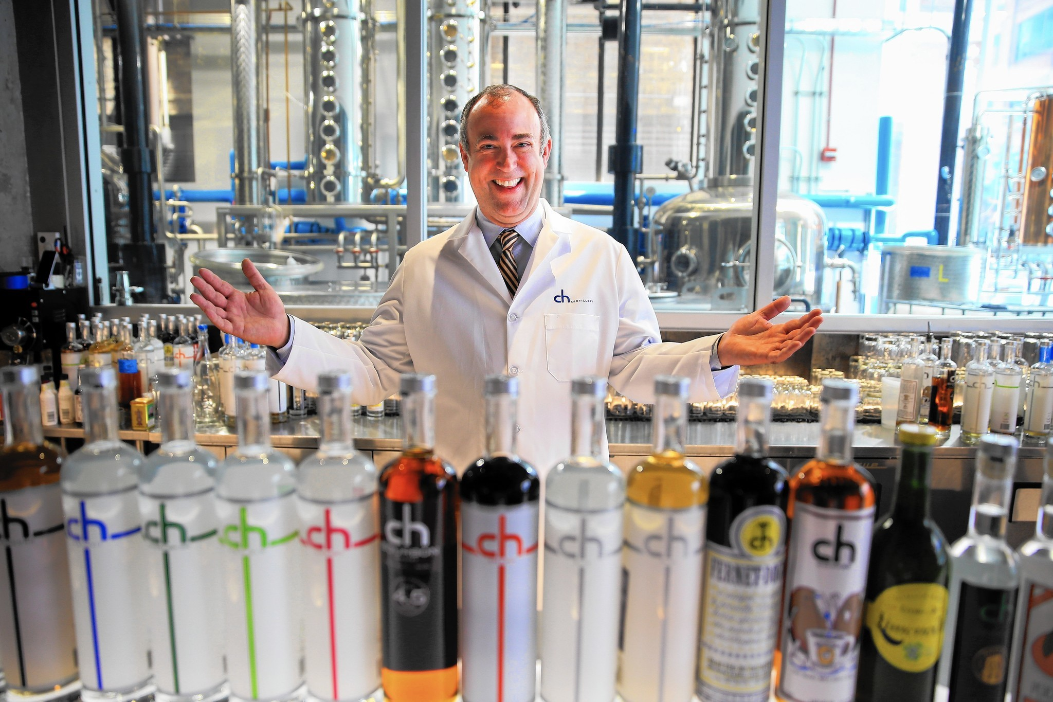Chicago's craft distillery revolution: From none to 17 in 14 years