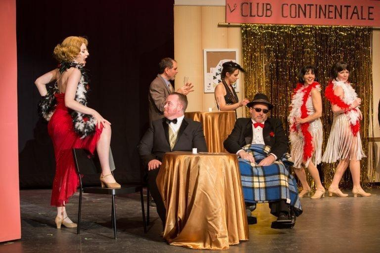 Silhouette stages a musical farce in monte carlo carroll for Broadly farcical