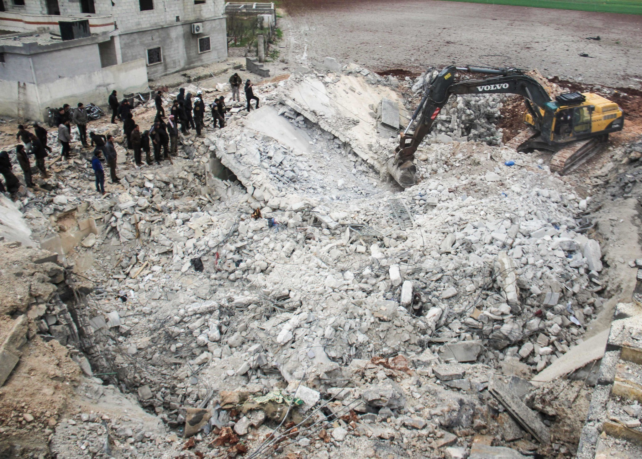 At Least 46 Civilians Claimed Dead In Alleged Massacre Syrian Mosque Hit By US Drone