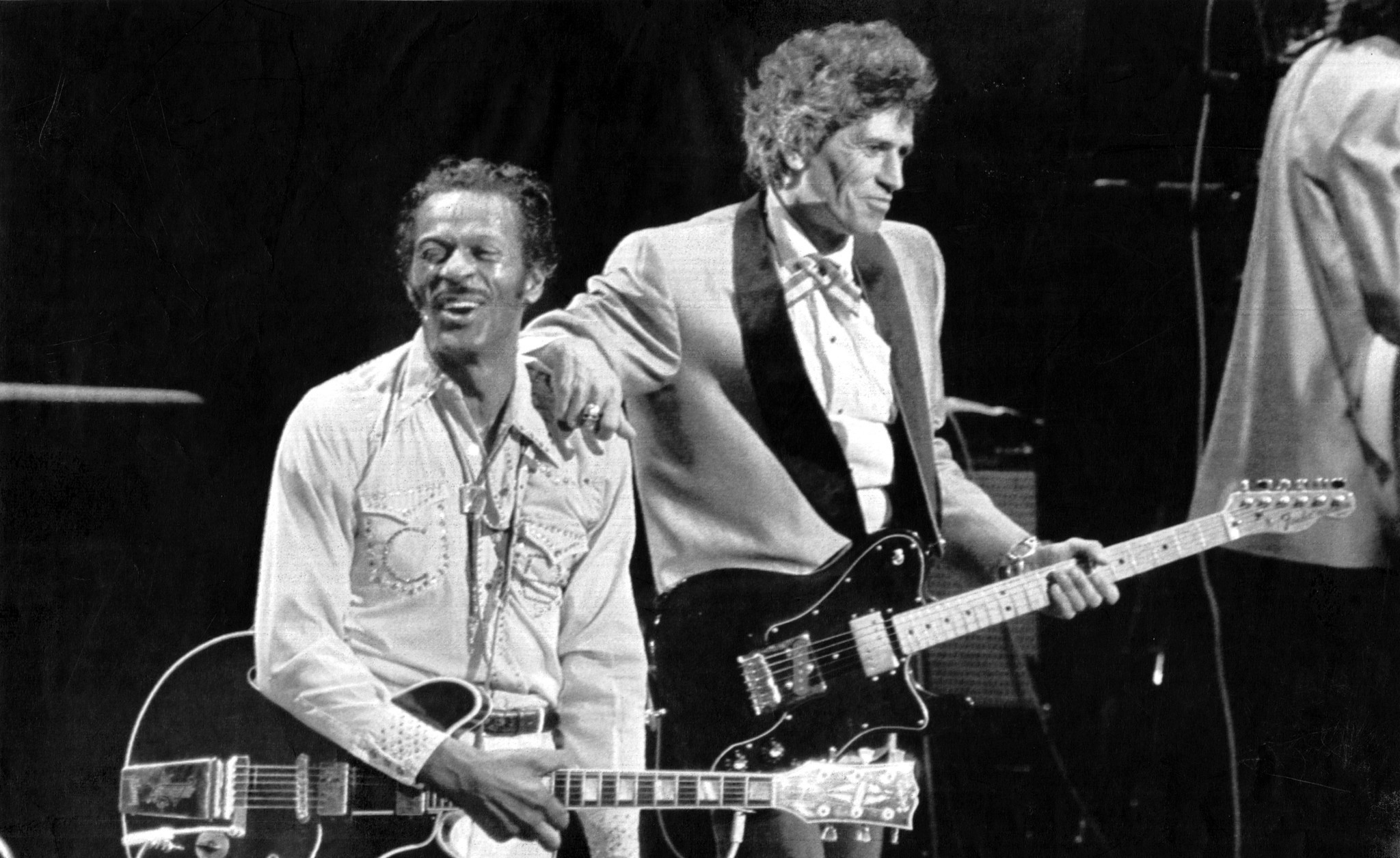 Image result for chuck berry keith richard