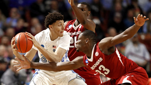 North Carolina Tar Heels 72, Arkansas Razorbacks 65: Nothing Given