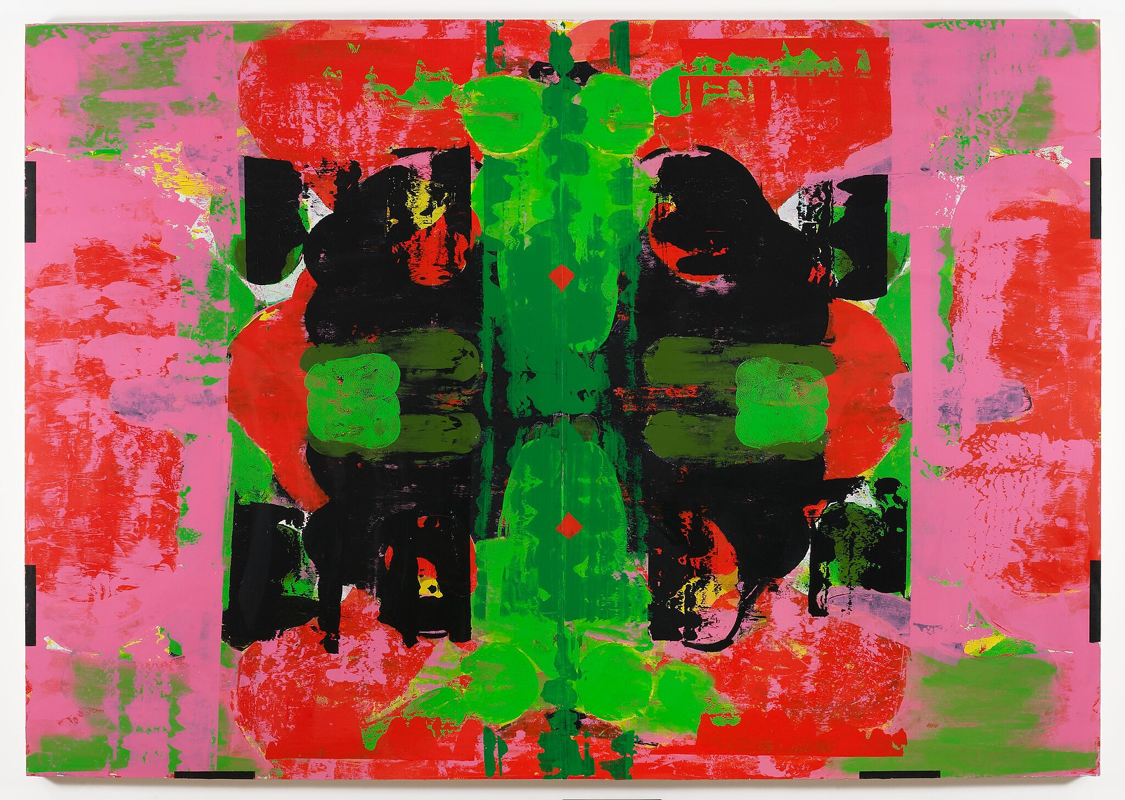 "Kerry James Marshall, ""Untitled (Blot),"" 2014, acrylic on PVC panel"
