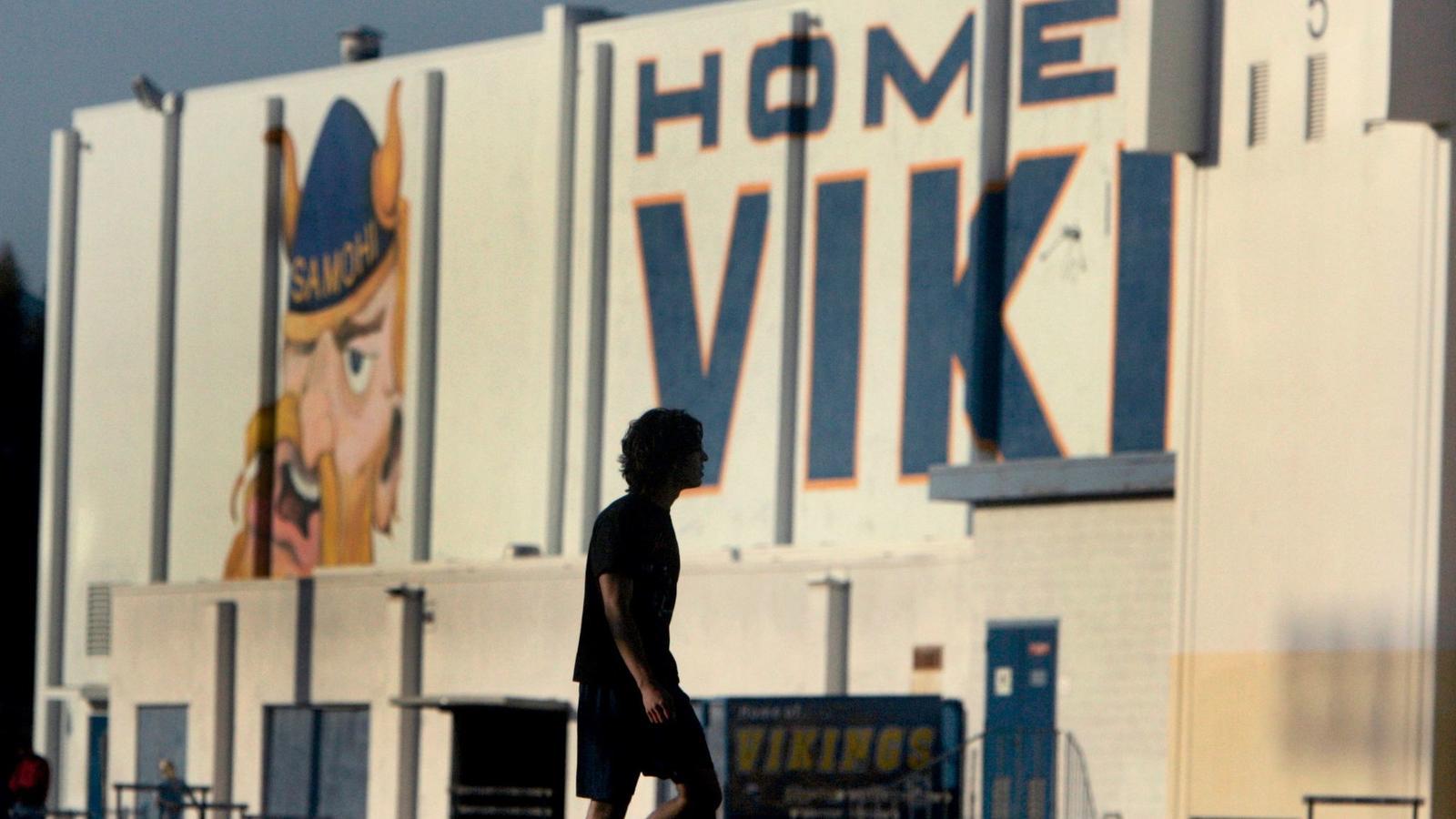 Santa Monica High School (Karen Tapia-Andersen / Los Angeles Times)