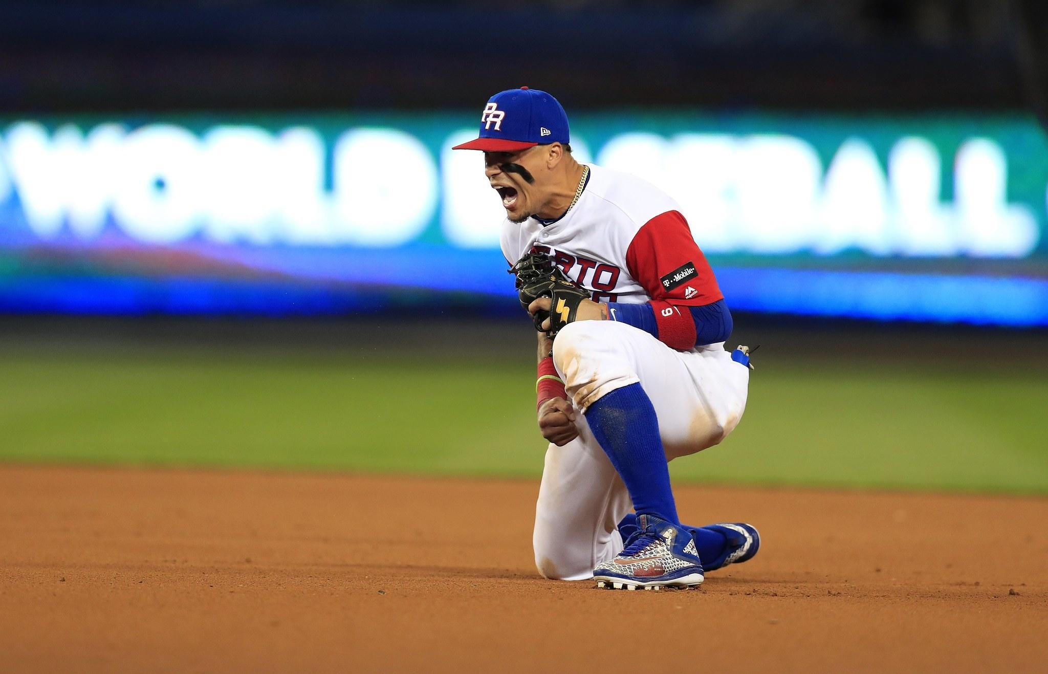 cubs javier baez leads puerto rico  world baseball classic final chicago tribune