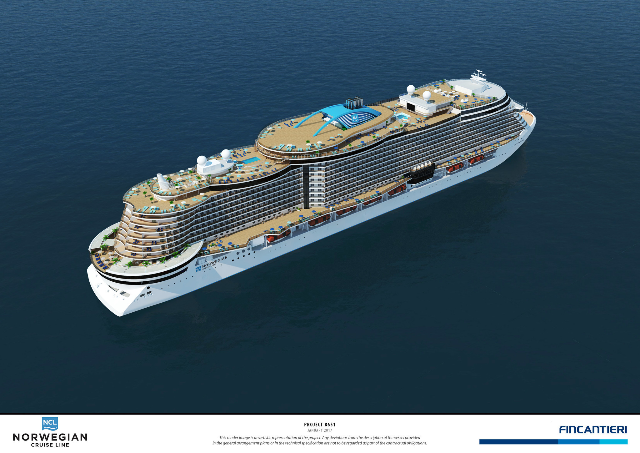 Norwegian Cruise Line Gives First Look At Project Leonardo