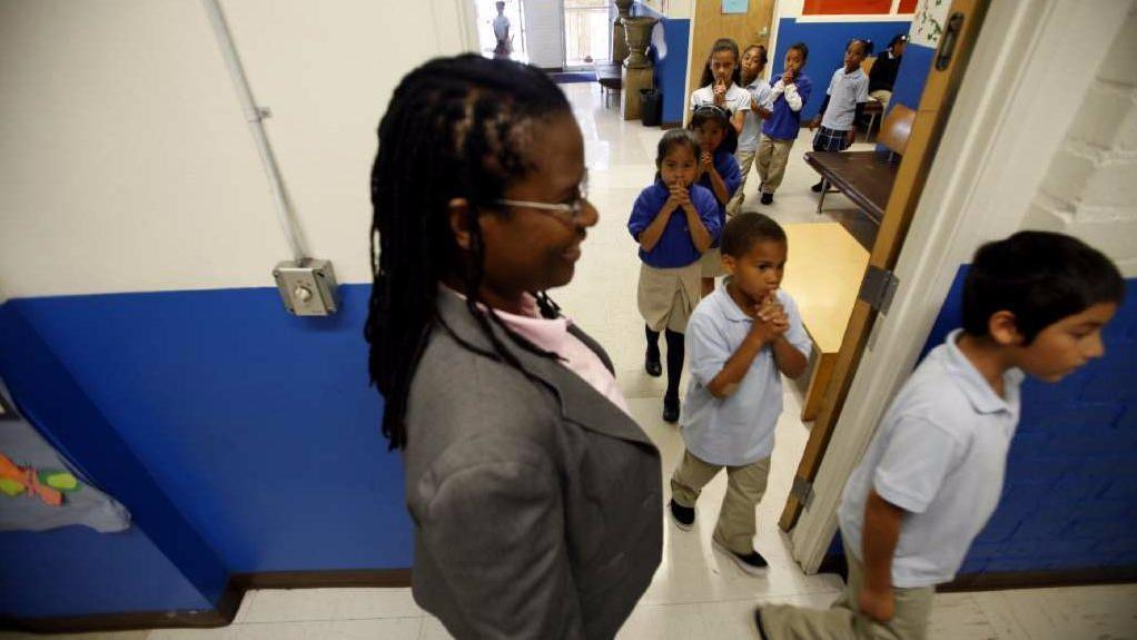 Celerity Educational Group founder Vielka McFarlane (Francine Orr / Los Angeles Times)