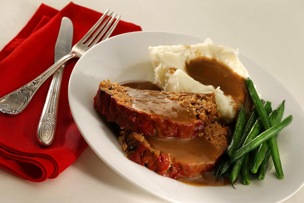 The joy of meatloaf, that iconic comfort food