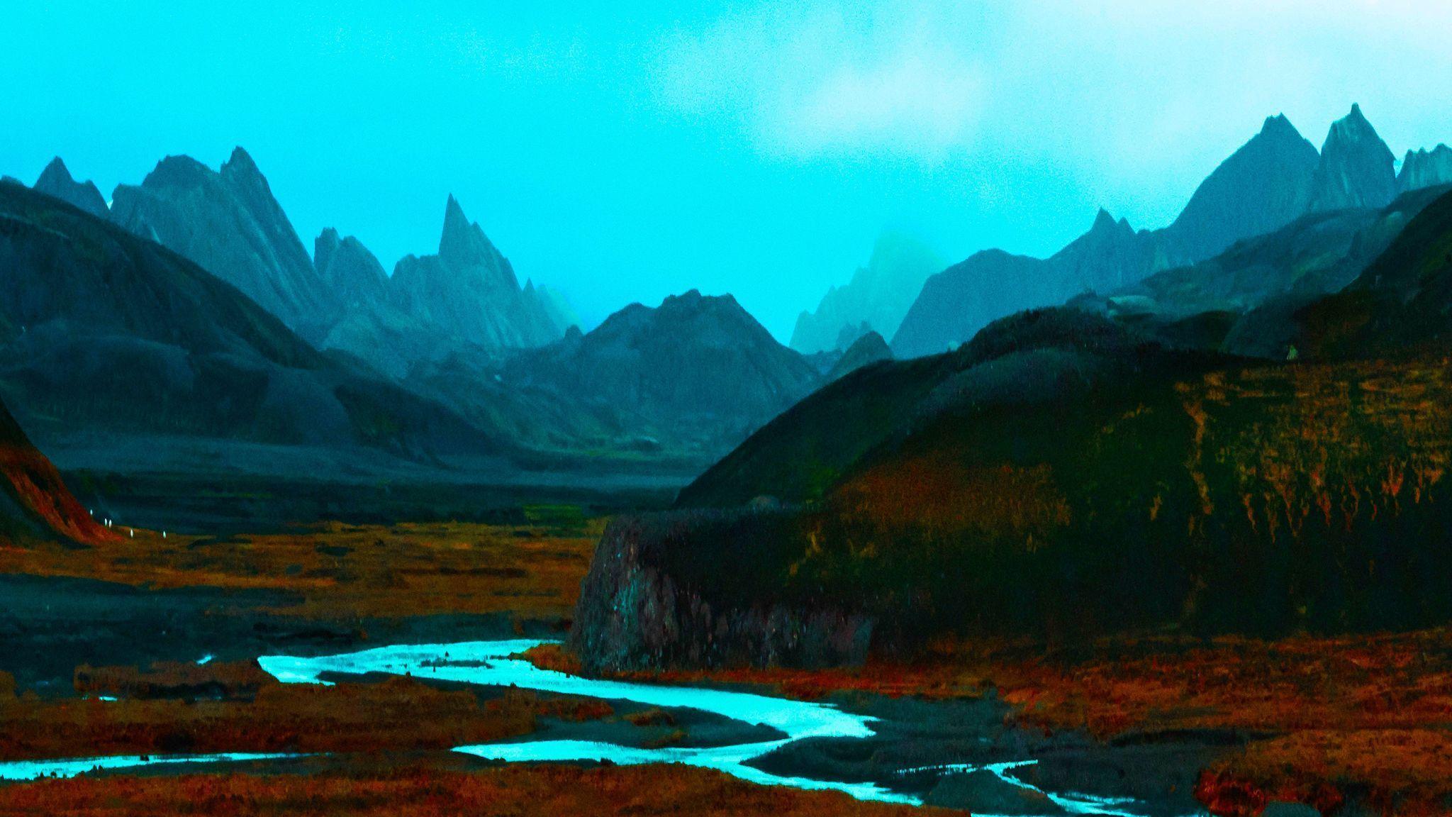 Landscape photographer lets imagination color his world