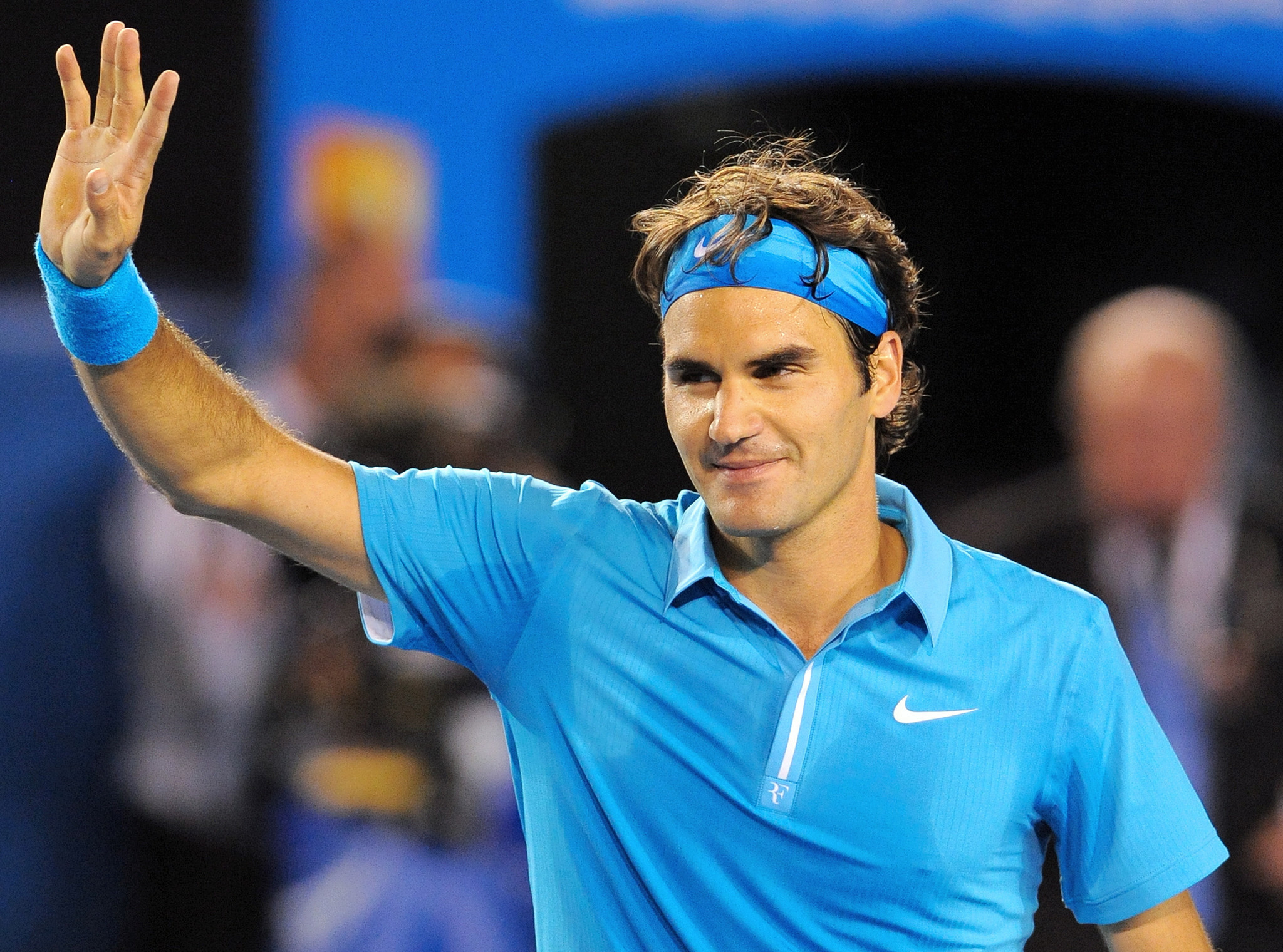 Hyde Roger Federer is beating men s tour and Father Time in a way