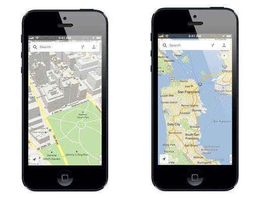 Google Maps to let others see where you are with a few taps