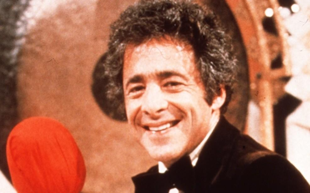 "Chuck Barris, host of ""The Gong Show,"" died Monday at age 87. (NBC)"