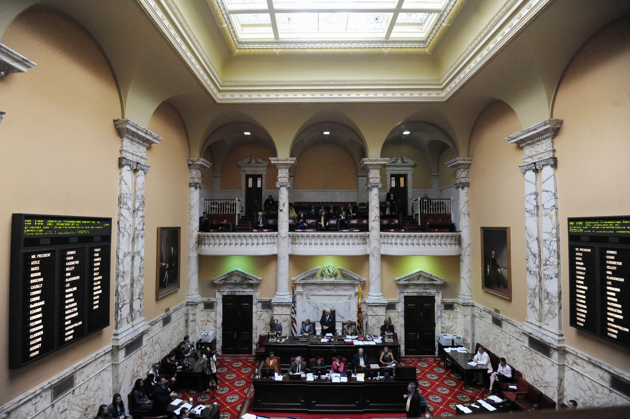 Hogan Congressional Redistricting Plan Voted Down In Maryland Senate