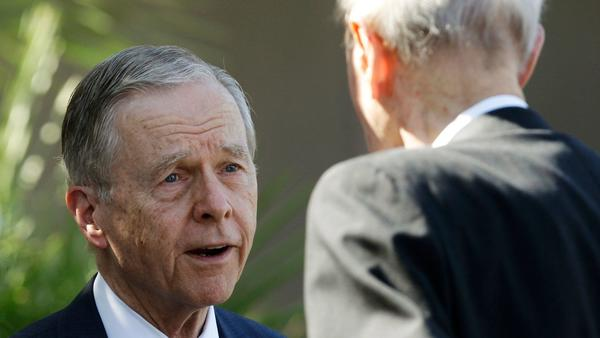 For former Gov. Pete Wilson, this campaign is personal: It's about his reputation