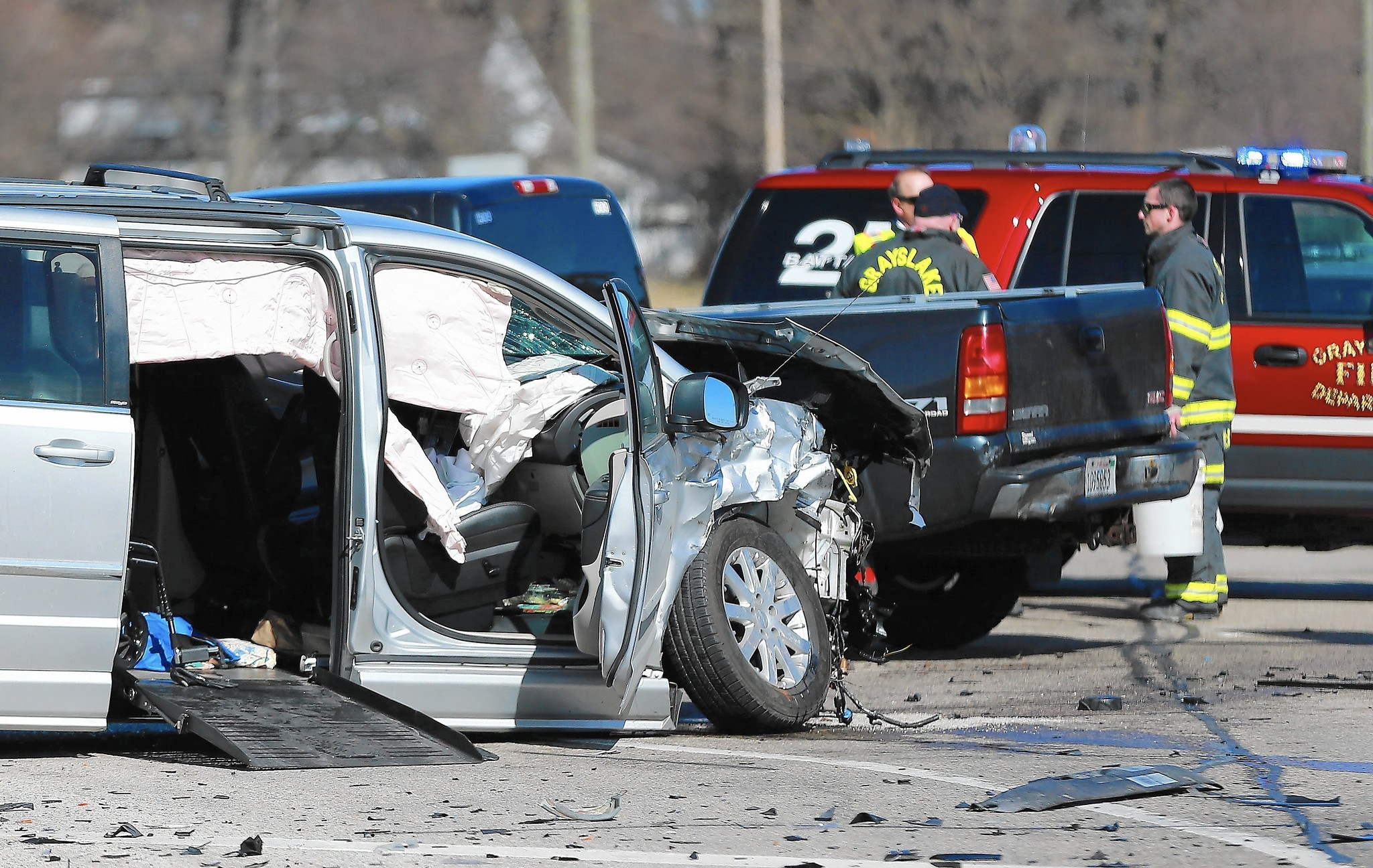 One Fatality Reported In Three Vehicle Crash Near