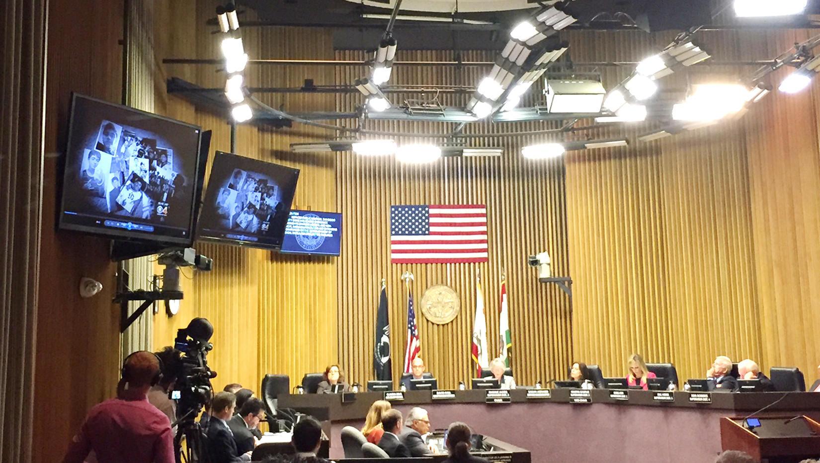 San Diego County supervisors