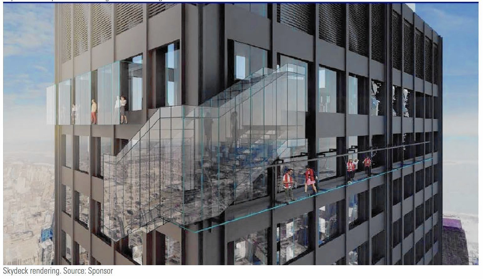 Want To See Willis Tower S Skydeck From The Outside
