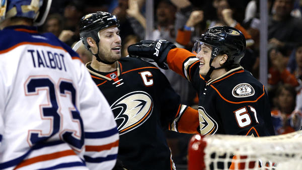Ducks Twice Erase One-goal Deficits In 4-3 Victory Over The Oilers