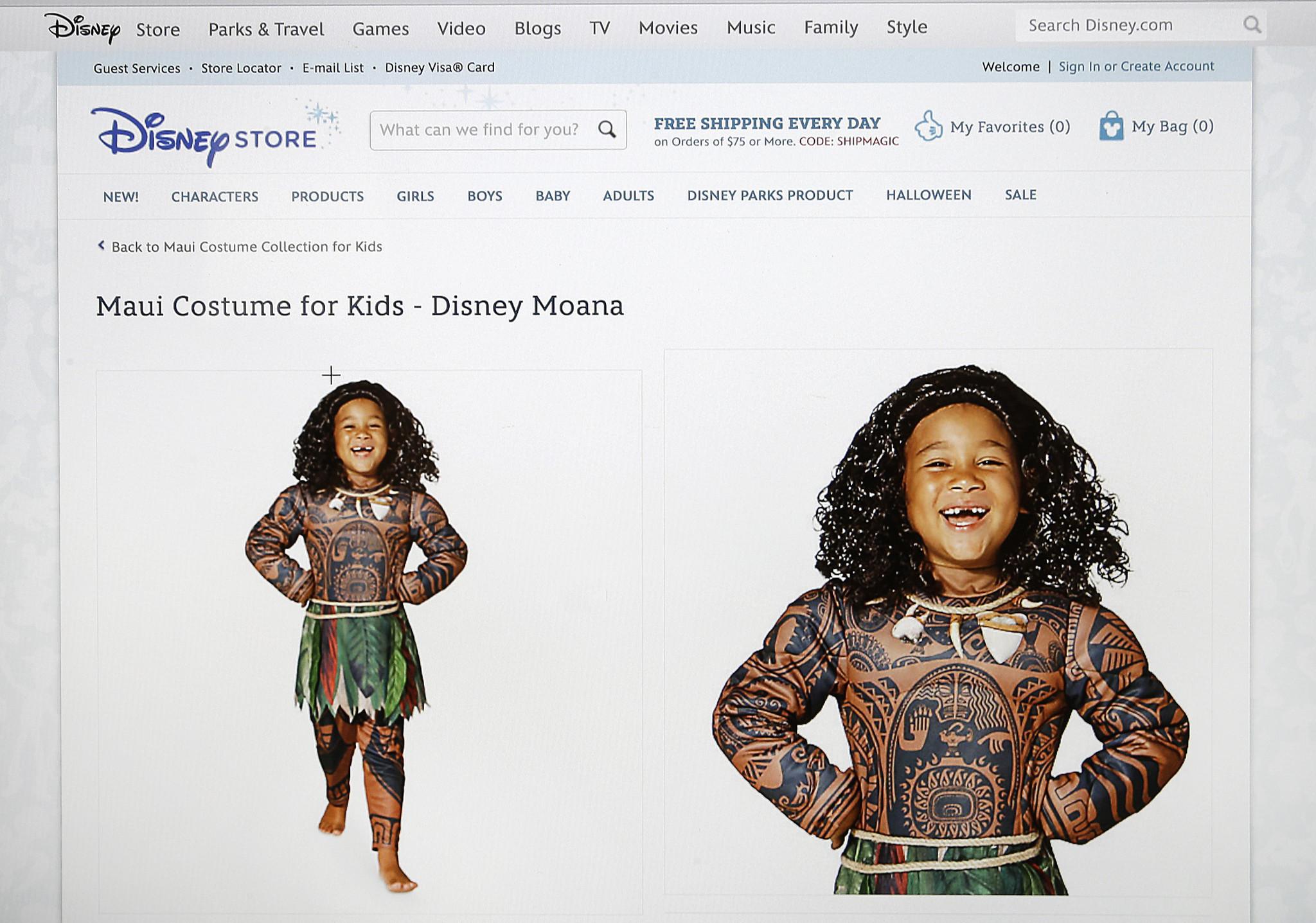 Disney pulls Polynesian costume compared to blackface - The San Diego Union -Tribune